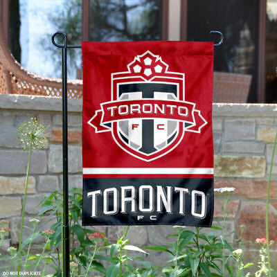 Toronto FC Two Sided Garden Flag and Yard Banner