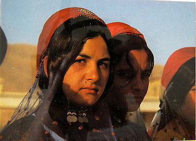 Young Iranian Girls In Their Native Costumes Postcard