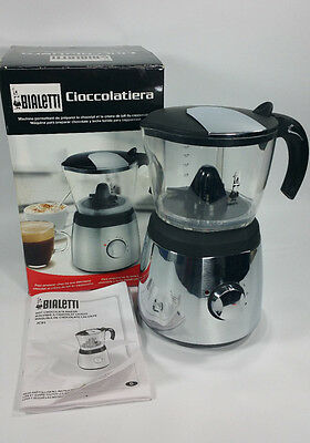 Bialetti Jc91 Cioccolatiera Cappuccino Hot Chocolate Maker Milk Frother Italy