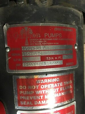 Gusher Coolant Pump 11019Cih-A