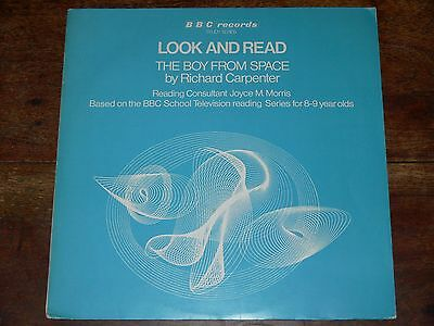 Richard Carpenter THE BOY FROM SPACE LP Rare 1971 BBC Records Orig Look And Read