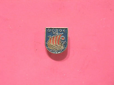 "Very Small Norway Lapel Pin Uk Import ""norge"""