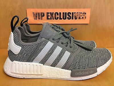 promo code 6a33c f3595 Adidas NMD R1 Solid Grey White Glitch Camo Pack Originals Nomad Runner  BB2886