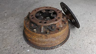 Original 1928 Ford Model A Fly Wheel Assembly Early Ford TROG Speedster