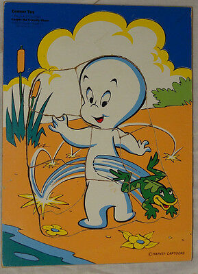 Casper the Friendly Ghost Vintage Tray Puzzle by Connor Toy, Harvey Cartoons