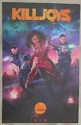Killjoys TV Show Promo Poster Fan Expo Comic Con 2016 11 x 17 Season 2