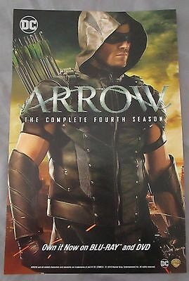 Arrow / Flash TV Show Promo Poster Fan Expo Comic Con 2016 11 x 17