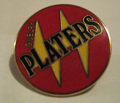 Vintage Guelph Platers OHL Hockey Pin Badge