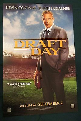 Draft Day Movie Promo Poster Fan Expo Comic Con 2014 Kevin Costner Football