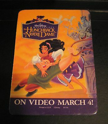 The Hunchback of Notre Dame Movie Promo Pin Button Badge