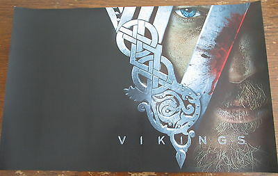Vikings TV Show Promo Poster Comic Con 2016 11x17