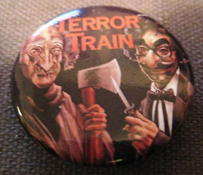 Terror Train Horror Movie 2012 Fan Expo Pin Button Badge