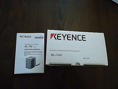 New Keynce Laser Bar Code Reader W/user's Manual M/n Bl-740 & Bl-H1We Series 700
