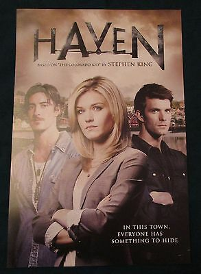 Haven TV Show Promo Poster Fan Expo Comic Con 2014 Emily Rose Lucas Bryant