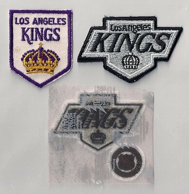 Los Angeles Kings NHL Hockey Patch Lot of (3) Different