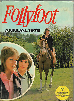 Follyfoot Annual 1976 Yorkshire Television Hardback Acceptable Condition
