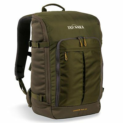 Tatonka Sparrow Pack 22L Olive Carry Daypack Laptop Padded 15.4″ Bag Backpack