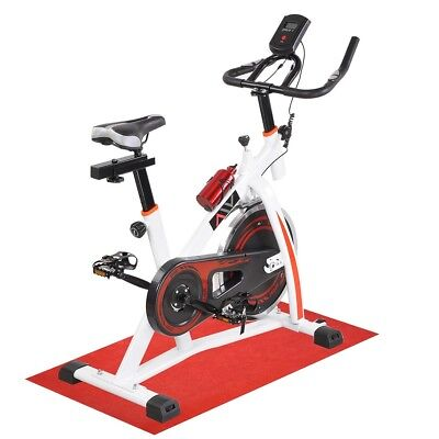 Flywheel Exercise Bike Fitness Gym Bicycle Cycling Cardio Workout Indoor Home