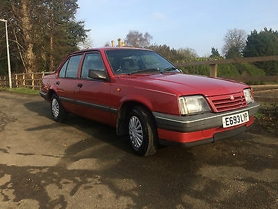 1988 Vauxhall Cavalier L 1.3 Saloon Only 26500 Miles From New!!!!
