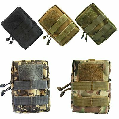 1000D Tactical Molle Waist Bag Magazine Drop Pouch Medical Bag Hunting Paintball