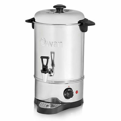 Swan Commercial Electric Catering Tea Urn Coffee Hot Water Boiler Swu