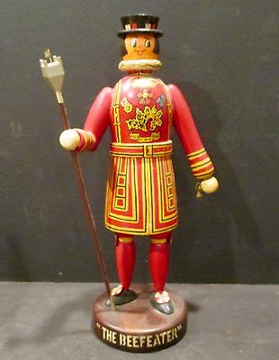 Vintage Beefeater Gin Statue Man Cave, Bar