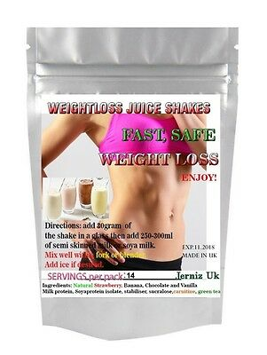 Complete Slim*Lose upto 15lb in 7days!Fast Weightloss Slimming Juice Shakes Plus