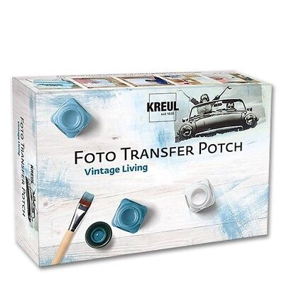 Foto Transfer Potch Vintage Living C.Kreul 49990 in Kartonbox