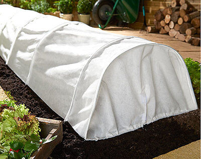 Fleece Grow Tunnel Garden Protects Growing Plants From Birds Insects Pests