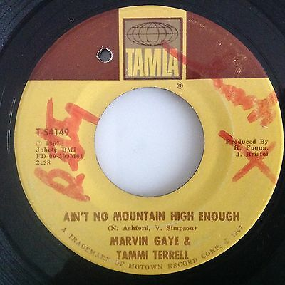 Marvin Gaye & Tammi Terrell-Ain't No Mountain High Enough-Give A Little Love.vg+
