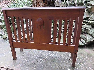 Antique Maple Double Bed For Restoration Only