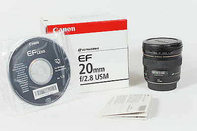 Objectif CANON 20 mm f/2.8 USM