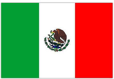 Mexico Flag HQ Large 5ft x 3ft Flag Mexico National Flag Fans Supporter Flag
