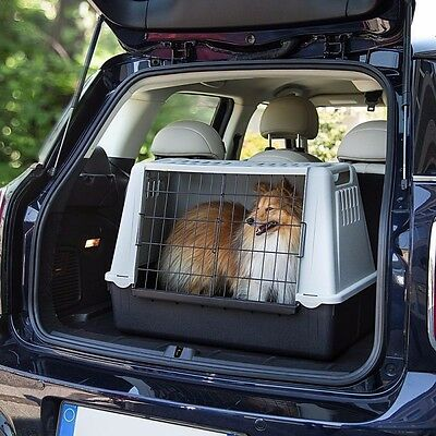 Plastic Dog Crate For Car Small Pet Dogs Pets Cage For Travel Puppy Animal Cages