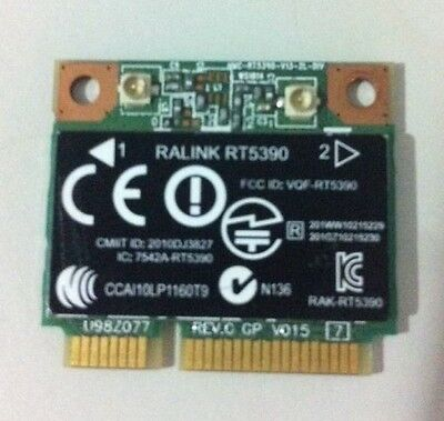 RALINK RT5390 Wireless N WLAN WIFI PCI-E Half-Mini Card  SPS - 691415-001