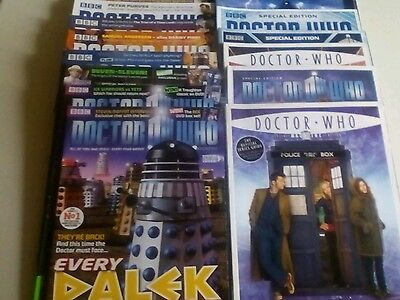 DOCTOR WHO MAGAZINE x 17 ISSUE LOT