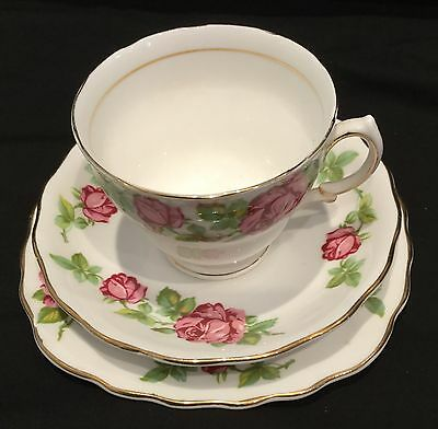 Vintage Royal Vale Bone China Cup, Saucer and Plate