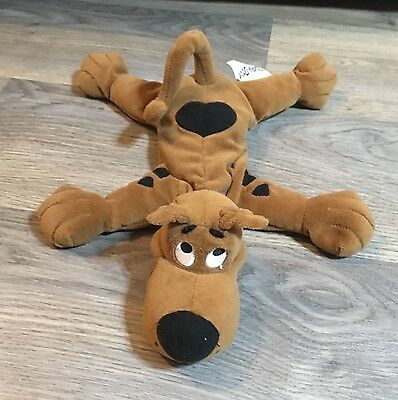 """Official Scooby Doo 12"""" Soft Toy Plush- Good Condition-Hannah Barbera (s02)-Rare"""