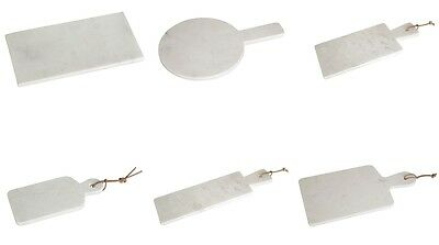 Marble Tray  Cutting Chopping Board Rectangle Paddle Round Kitchen Serving Board