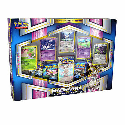 Pokemon XY Magearna Mythical Collection Box: 5 Booster Packs + 6 Promo Cards!