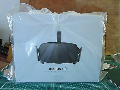 OCULUS Rift VR Virtual Reality Glasses. New in box never opened