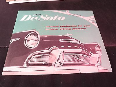 1956 De Soto Optional Equipment Brochure
