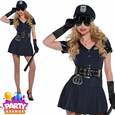 Sexy Police Woman Costume Officer Rita Dem Rights Cop Uniform Womens