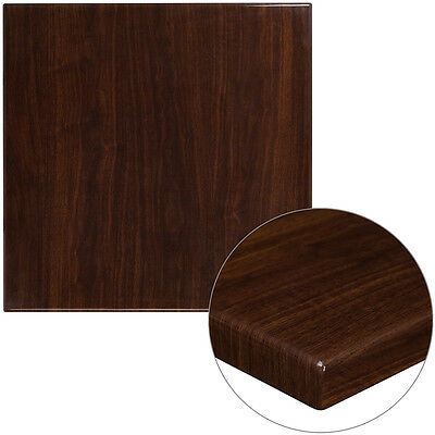 30X30 Super Shine Extrathick Walnut Restaurant Or Residential Tabletop Furniture