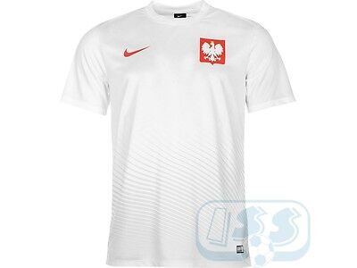 DPOL67j: Poland Nike Supporters Tee Kids - Euro 2016 Boys Jersey WITH DEFECT