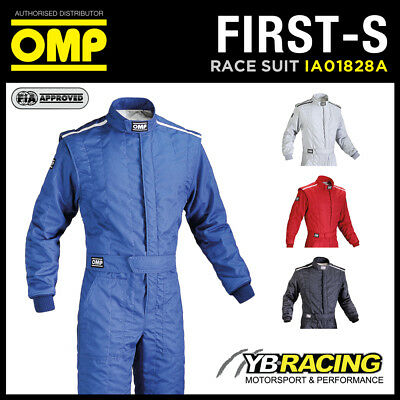 Sale! Ia01828A Omp Racing First-S Entry Level Fireproof Race Rally Suit Fia