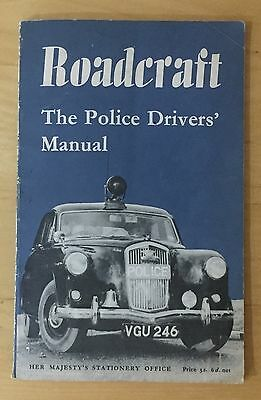 ORIGINAL 1960 Police Drivers Manual entitled Roadcraft Published by HMSO