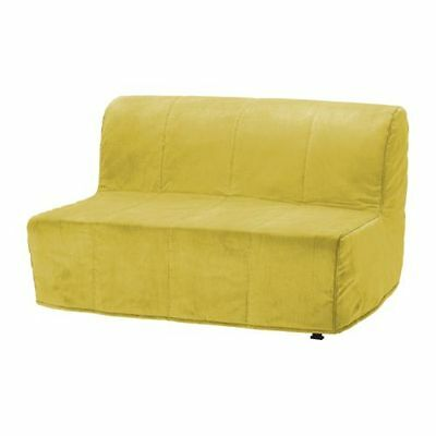 New Ikea LYCKSELE  COVER ONLY for Two-seat sofa-bed  in Henan Yellow