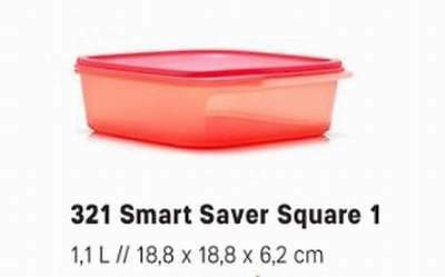 New Smart Saver Square Tupperware Great Collection