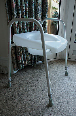 Toilet Seat Frame  Adjustable Height